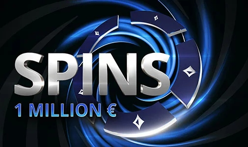 "Tentez de gagner le jackpot avec ""SPINS 1 Million d'Euros"" de Party Poker !"